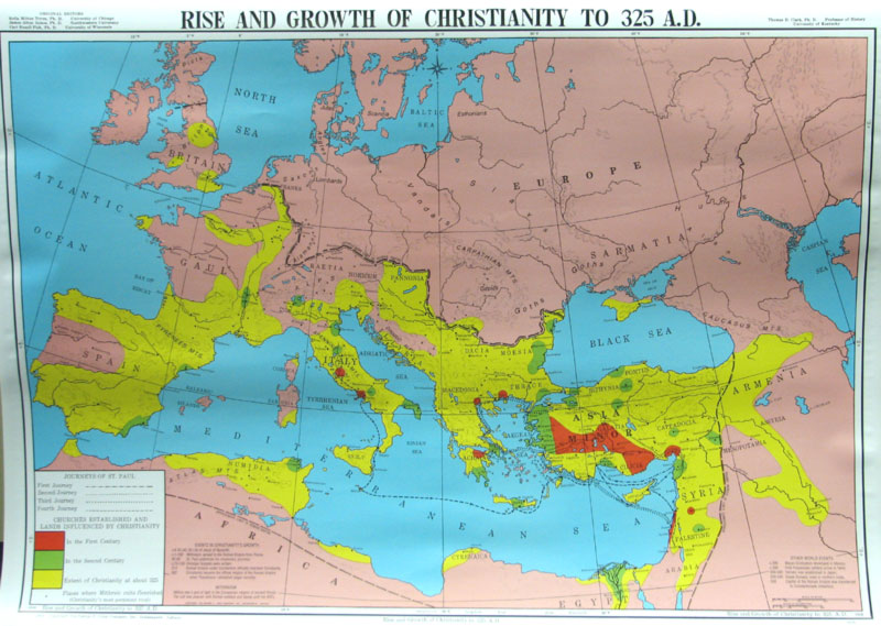 the rise of christianity in the roman empire essay At this time, the roman empire was in economic turmoil and christian persecutions were its last attempt at control a major turning point in the history of christianity occurred in 312 of the current era the story is told that constantine, roman emperor during this time, had a dream telling him to.